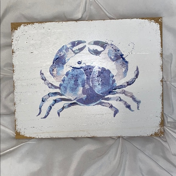 Hobby Lobby Other - Distressed Crab Coastal Decor New Unused